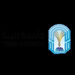 شعار جامعة طيبة السعودية-مفرغ